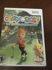 Kidz Sports: Crazy Golf Wii Game ~ Complete