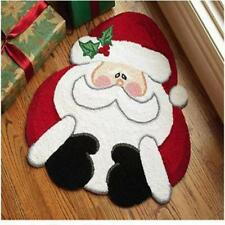 Christmas Thickend Sponge Santa Anti-skid Floor Door Bathroom Mat Carpet Rug