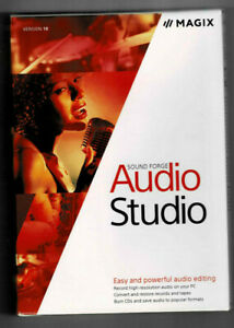Magix Sound Forge Audio Studio ver10 Free Shipping!