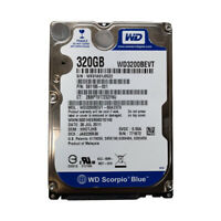 "Western Digital Blue 320GB WD3200BEVT 5400RPM SATA 2.5"" Laptop HDD Hard Drive"