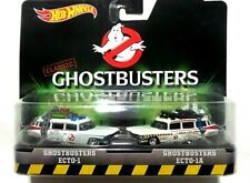 rare Hot Wheels Classic Ghostbusters ECTO-1 & ECT0-1A Diecast 2-in-1