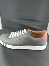 NEW BALLY MENS Leather Sneaker ASHER/27  GREY Size 8  MORE SIZES  AVAILABLE
