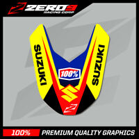 SUZUKI RM 125 250 2001 - 2008 RMZ FRONT FENDER DECAL MX GRAPHICS TI