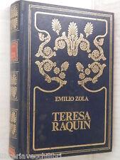 TERESA RAQUIN Emilio Zola Peruzzo 1985 libro romanzo narrativa storia racconto