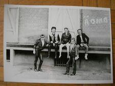 TIRAGE PHOTO ARGENTIQUE : FRENCH PUNK ROCK FRANCAIS : A BOMB – LE HAVRE 1985