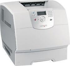 Lexmark T642N T642 N Refurbished A4 Mono Workgroup Laser Printer + Warranty