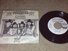 "THE CONCRETE COWBOYS - 1979 Avap Records - MEGA RARE OHIO INDIE COUNTRY 7"" VINYL"