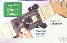 E-Z Chord easy chord guitar attachment device + instructional  DVD *Play Today*