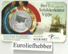 NEDERLAND                 Het Schilderkunst Vijfje 2011  in Coincard    IN STOCK
