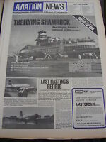 AVIATION NEWS VOL 6 # 5 1977 IONA AIRWAYS HASTINGS AIRCRAFT BOEING 737 SHAMROCK