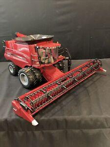 "GIANT 30"" Case IH Big Farm 8240 Combine 1:16 Replica Tomy Tractor Sounds Lights"