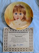 Edwin M. Knowles China Fascination Collector's Plate