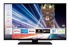 Techwood U40T52C 40 Zoll 4K Ultra HD Fernseher Smart TV WLAN HDR Dolby Audio USB