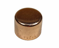 22mm End-feed Stop End Cap | Solder Plumbing Fitting For Copper Pipe