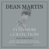 Dean Martin PLATINUM COLLECTION Best Of 48 Songs NEW WHITE COLORED VINYL 3 LP