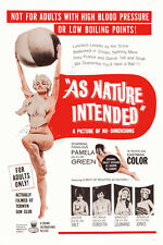 "As Nature Intended Burlesque  Movie Poster  Replica 13x19"" Photo Print"