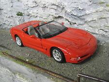 Bburago Chevrolet Corvette C5 Cabriolet 1997 1:18 Red #2