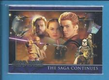 STAR WARS TOPPS 2002 Promo cards  ATTACK OF THE CLONES P1