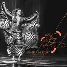 CD DANIELA MERCURY - O AXE, A VOZ E O VIOLAO [GREATEST HITS LIVE 2016 CD]