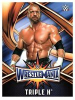 2017 TOPPS WWE Road to Wrestlemania 33 ROSTER #1  TRIPLE H