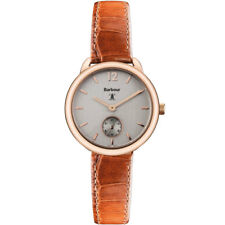 Barbour Bb035rstn Ladies Whitley Brown Leather Strap Watch