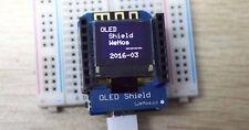 "Original WeMos OLED Shield # 0.66"" inch 64x48 # IIC I2c # WeMos D1 mini Arduino"