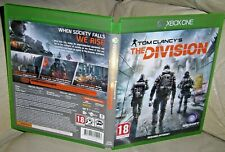 TOM CLANCY'S THE DIVISION XBOX ONE GAME 2016!!