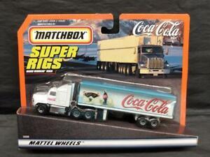 1997 Matchbox Super Rigs Coca-Cola Tractor Trailer,  MOC!