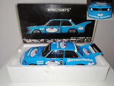 BMW 320i DRM 1977 P. SCHNEEBERGER 1:18 MINICHAMPS - USATO PARI AL NUOVO