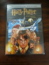 Harry Potter and The Sorcerer's Stone Dvd New Sealed Widescreen Jk Rowling