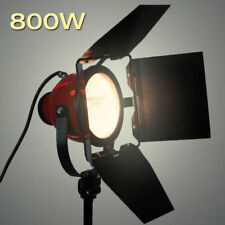 800W Pro Photo Studio Continuous Red Head Light Barndoor Video Lighting w/ Bulb