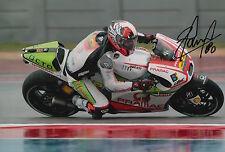 Yonny Hernandez Hand Signed Pramac Ducati 12x8 Photo 2015 MotoGP 6.