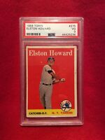 1958 Topps Elston Howard #275 Psa 3 VG