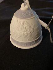 Lladro Lavender Christmas Bell 1993 3�
