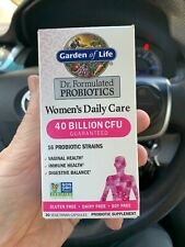 Dr. Formulated Probiotics Once Daily Women's 30 Capsules Garden of Life Exp 3/21