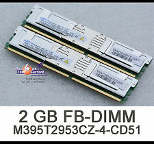 2GB RAM M395T2953CZ4-CD51 RAM SPEICHER BX620 RX200 S3 RX300 TX200 S3 FBDIMM  S54