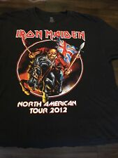 Iron Maiden 2012 Tour Shirt XL