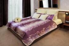 Piumoni viola ipoallergenico per il letto