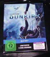 Dunkirk Limitata Digibook Edizione Doppio blu ray più Veloce Nuovo & Originale