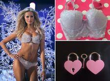 32D Victoria's Secret DREAM ANGEL Long Line Demi Bras 'Pale Violet' *FREE GIFT*