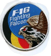 F-16 BAF 2 SQN SWIRL PATCH BELGIAN AIR FORCE 2ND SQN