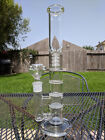 "13"" inch Glass Water Pipe Bong - Triple Honeycomb + Showerhead Percolators"