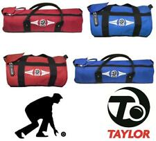 NEW 2017 THOMAS TAYLOR CYLINDER BOWLS BAG HOLDALL CLUTH BAG