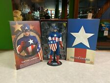 2013 Hot Toys Marvel Captain America Star Spangled Man 1/6 Figure MMS 205 w/ Box