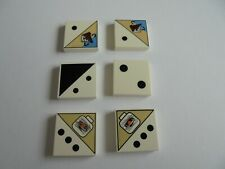 6 Lego Dice Tile~ 2 x 2 from Ramses Pyramid~3068 dice tiles