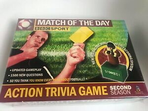 MATCH OF THE DAY ACTION ELECTRONIC TRIVIA QUIZ GAME - BBC Board Game Christmas