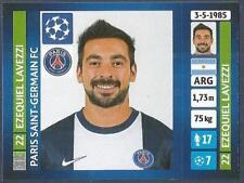 PANINI UEFA CHAMPIONS LEAGUE 2013-14- #180-PARIS SAINT-GERMAIN-EZEQUIEL LAVEZZI