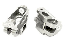 T5030SILVER Integy Billet Machined Caster Blocks for HPI 1/12 Savage XS Flux