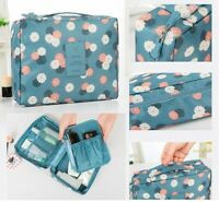 Travel Cosmetic Makeup Storage Bag Toiletry Case Hanging Wash Organizer Pouch