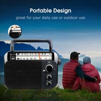 Retekess Portable TR604 FM/AM Radio Receiver Speaker Pointer Tuning for Elderly
